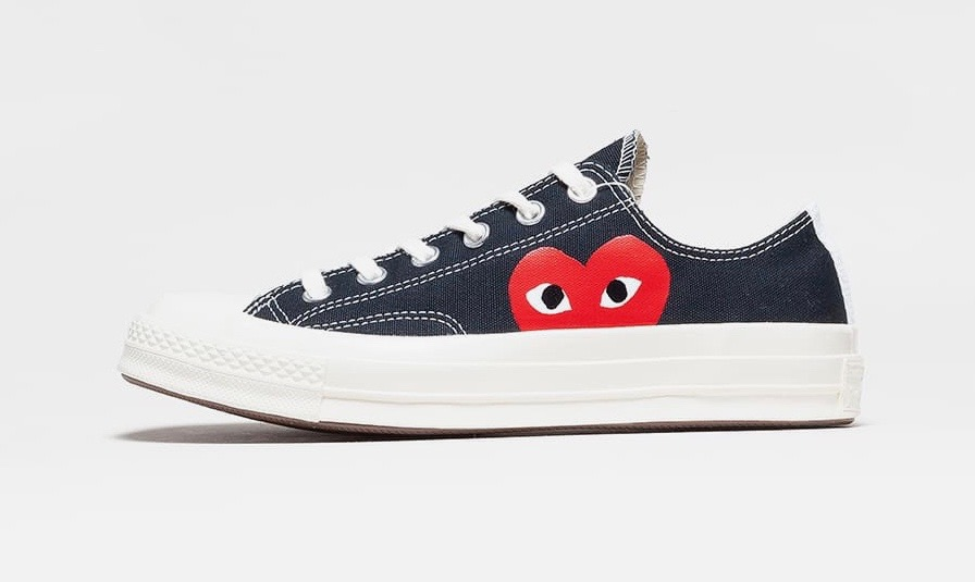 Converse x Comme des Garcons Play Chuck Taylor All Star 70