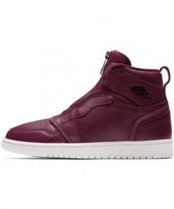 Air Jordan 1 High Zip Premium Womens - Bordeaux