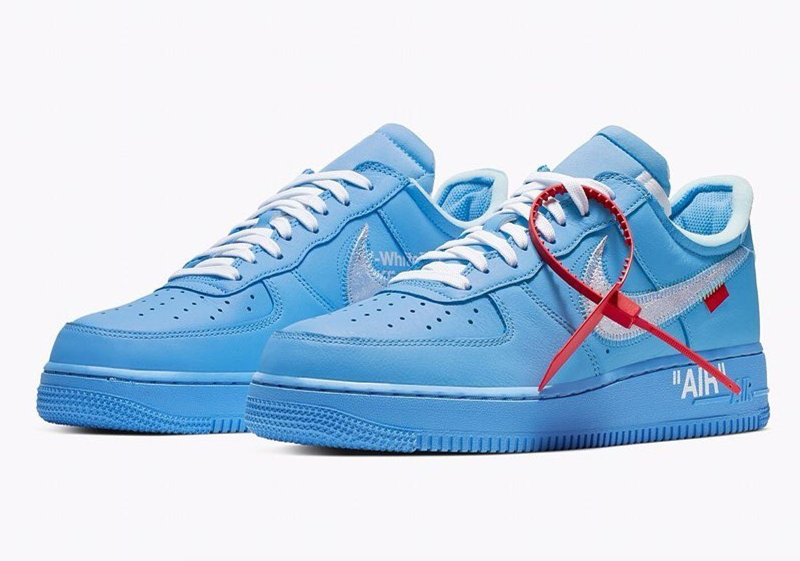 Nike Reveals Info On Off White x Nike Air Force One Virgil
