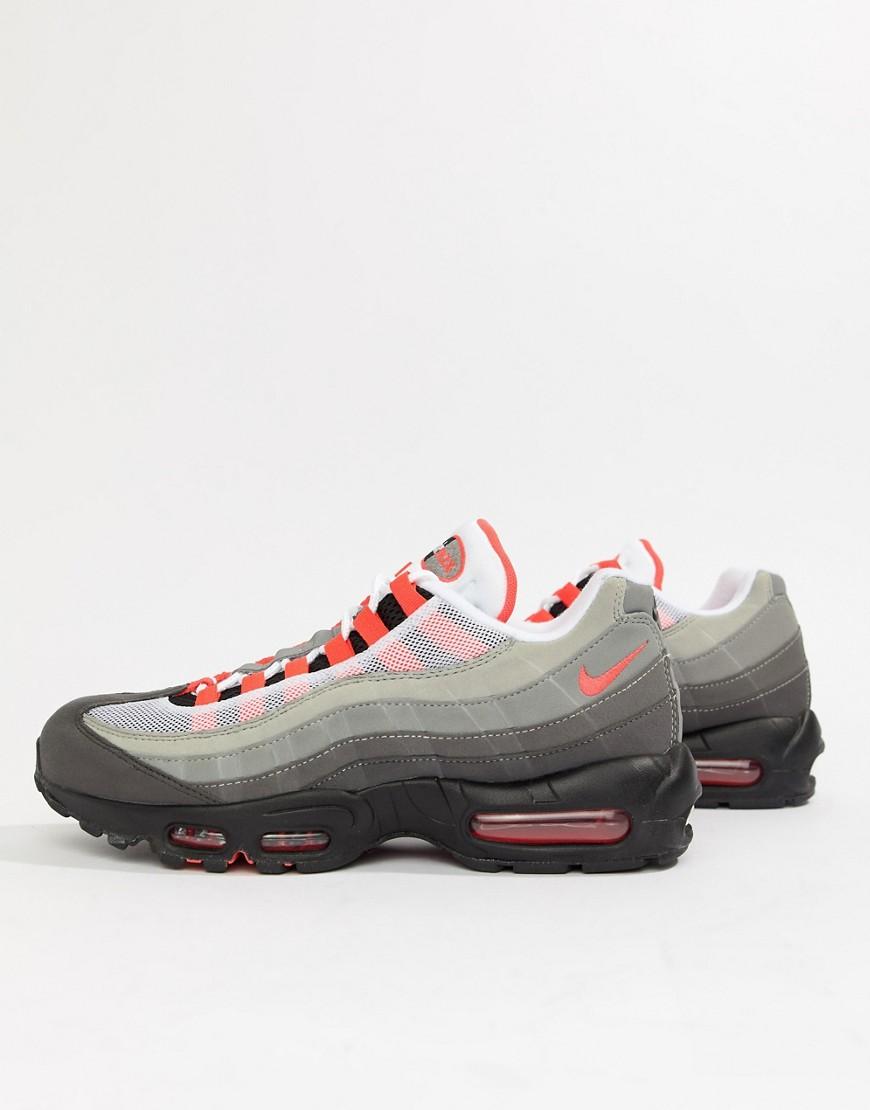 Nike Air Max 95 OG Schwarze Sneaker, AT 2865 100