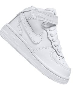 Nike Air Force 1 Mid Sneaker Kids Weiss F113
