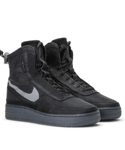 Nike WMNS Air Force 1 Shell (Schwarz)