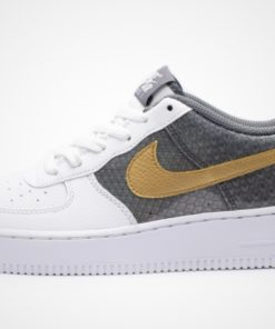 Air Force 1 SE GS (weiß / multicolor / braun) Sneaker