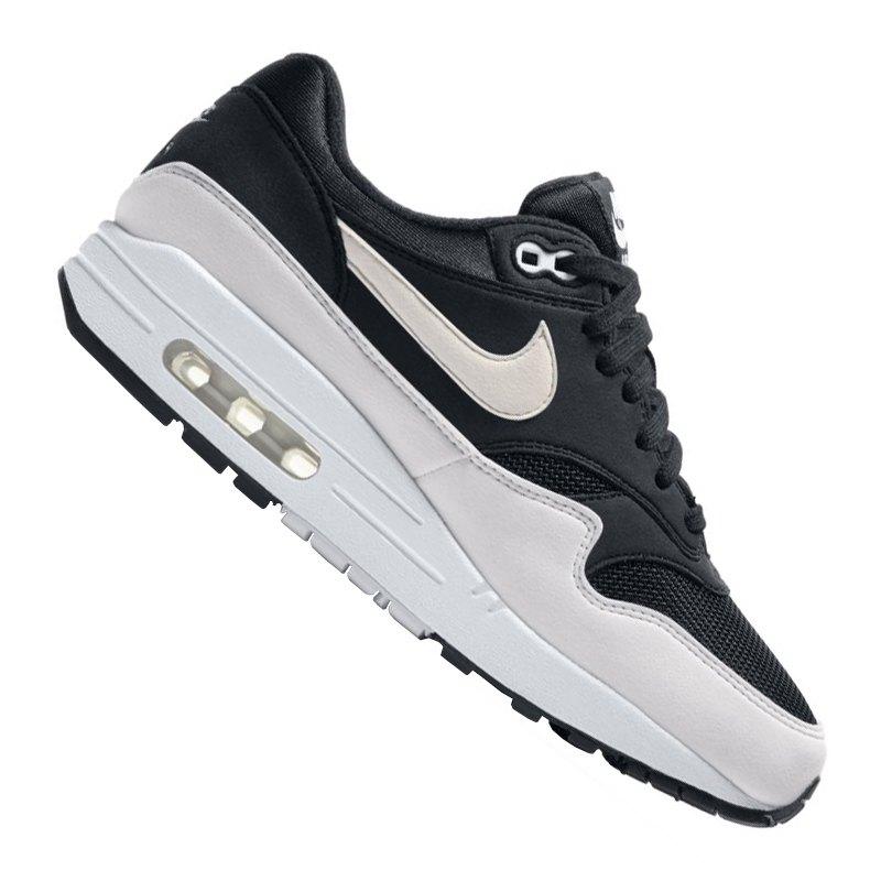 Nike Air Max 1 Sneaker Damen Schwarz Weiss F034