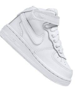 Nike Air Force 1 Mid Sneaker Kids Weiss F113