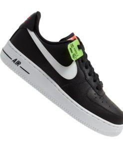 Nike Air Force 1 07 Sneaker Damen Schwarz F001