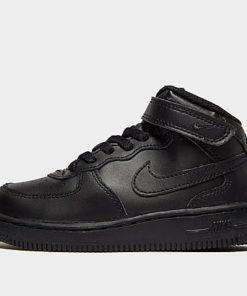 Nike Air Force 1 Mid Baby - schwarz - Kids, schwarz