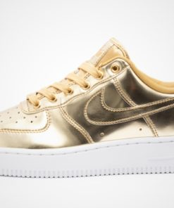 "WMNS Air Force 1 SP ""Metal Liquid - Gold"""