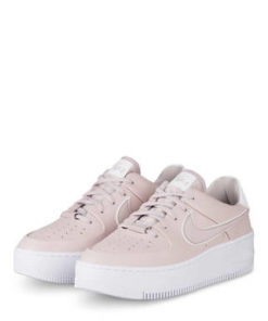 Nike Plateau-Sneaker Air Force 1 Sage rosa