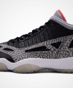 "Air Jordan 11 Low IE ""Black Cement"" Sneaker"