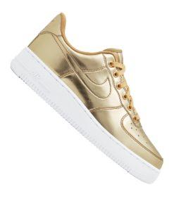 Nike Air Force 1 SP Sneaker Damen Gold F700