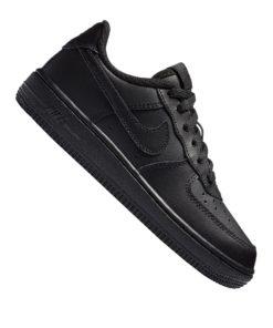 Nike Air Force 1 Sneaker Kids Schwarz F009