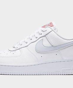 Nike Air Force 1 '07 Damen - White/Desert Berry/White/Ghost - Womens, White/Desert Berry/White/Ghost