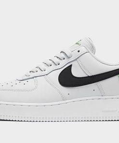 Nike Air Force 1 '07 Herren - Pure Platinum/Green Strike/Black/Green/Black - Mens, Pure Platinum/Green Strike/Black/Green/Black