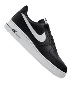 Nike Air Force 1 07 Sneaker Schwarz F001