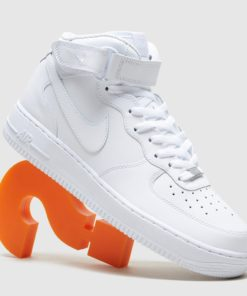 Nike Air Force 1 Mid, weiss