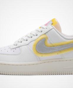 WMNS Air Force 1 '07 (weiß / silber / gelb) Sneaker