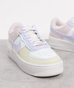 Nike - Air Force 1 Shadow - Sneaker in Pastellfarben-Mehrfarbig