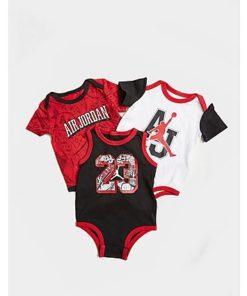 Jordan Air 3-Pack Bodysuits Baby - Kinder