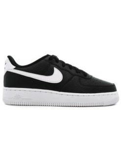 """Nike AIR FORCE 1 (GS) """"BLACK"""""""
