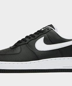 Nike Air Force 1 '07 LV8 Herren - Black/Black/Anthracite/White - Herren, Black/Black/Anthracite/White