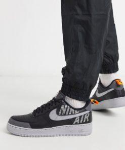 Nike - Air Force 1 '07 - Schwarze Sneaker, BQ4421-002