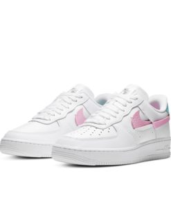 Nike - Air Force 1 LXX - Sneaker in Weiß, Rosa und Blau