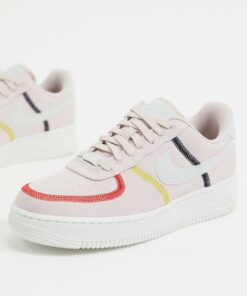 Nike - Air Force 1 '07 - Sneaker in Rosa-Weiß