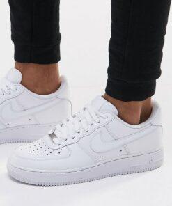 Nike - Air Force 1 '07 - Weiße Sneaker
