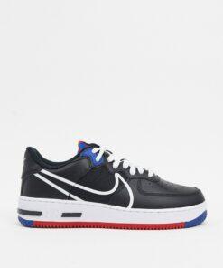 Nike - Air Force 1 React - Schwarze Sneaker