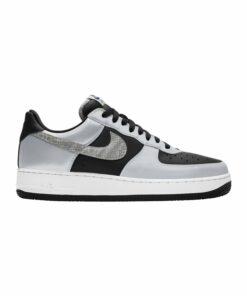 Nike Air Force 1 Schwarz Silber F001